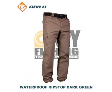 Штаны RIVLA Waterproof Ripstop Dark Green