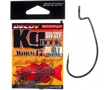 Крючки Decoy KG Hook Worm 17