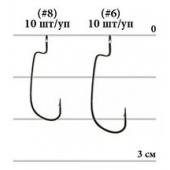 Крючки Decoy Mini Hook MG-1 № 6