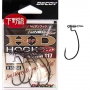 Крючки Decoy Worm 117 HD Hook offset № 2