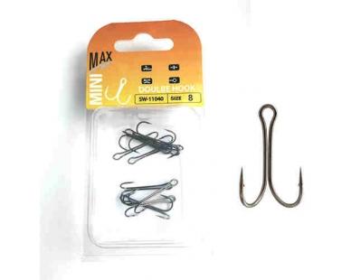 Двойные крючки Mini Max Double Hook