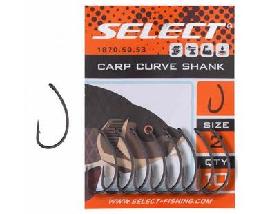 Крючки Select Carp Curve Shank