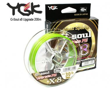 Шнур YGK G-Soul x8 Upgrade PE
