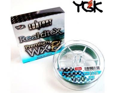 Шнур восьмижильный YGK Lonfort Real Dtex X8