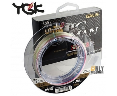Шнур плетеный YGK Ultra Jig Man WX X8