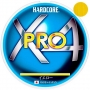 Шнур Duel Hardcore X4 Pro 200m #0.6 Yellow
