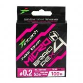Шнур Intech MicroN PE X4 100m #0.2