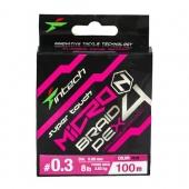 Шнур Intech MicroN PE X4 100m #0.3