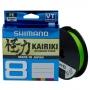 Шнур Shimano Kairiki 8 PE 300м 0.23мм Mantis Green