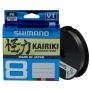 Шнур Shimano Kairiki 8 PE 150м 0.06мм Steel Gray