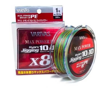 Шнур Varivas Avani Jigging 10x10 Max Power PE X8