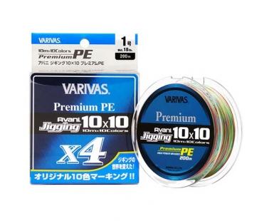 Шнур Varivas Avani Jigging 10x10 Premium PE X4