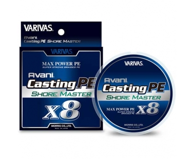 Шнур Varivas Avani Casting PE Max Power X8 Shore Master