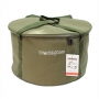 Мягкое ведро для прикормки World4carp Soft Bucket с крышкой 25л
